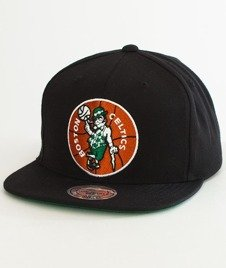 Mitchell & Ness-Boston Celtics Solid Team Snapback NZ979