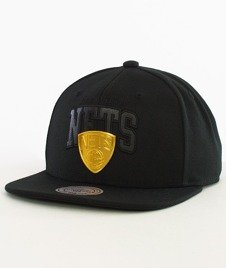 Mitchell & Ness-Brooklyn Nets Snapback EU942 Black/Gold