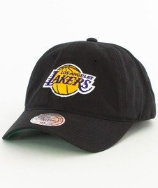 Mitchell & Ness-LA Lakers Washed Snapback Czapka Czarna