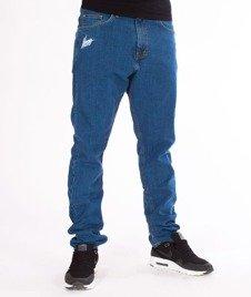 Moro Sport-Mini Slant Tag18 Slim Spodnie Jasne Pranie