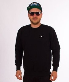 Nervous-Crewneck Sp18 Icon Bluza Black