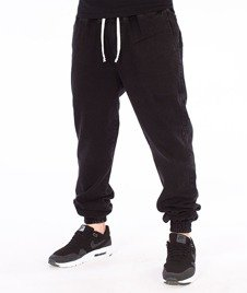 Nervous-Spodnie Marmurki Sp17 Jogger Jeans Czarne