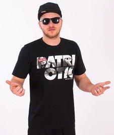 Patriotic-CLS Girl T-shirt Czarny