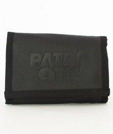 Patriotic-CLS Leather Stamp Portfel Czarny