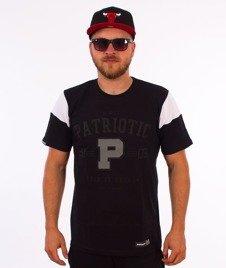 Patriotic-College T-shirt Czarny