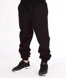 Patriotic-Laur Pelt Spodnie Materiałowe Jogger Czarne