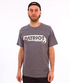 Patriotic-Sticker T-shirt Melanż