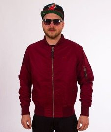 Pit Bull West Coast-Summer Jacket Bloch Kurtka Burgundy