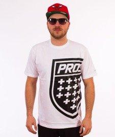 Prosto-Big Shield T-Shirt Biały