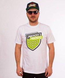 Prosto-Splitting T-Shirt Biały