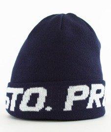 Prosto-Wraps Logo Czapka Zimowa Granatowa