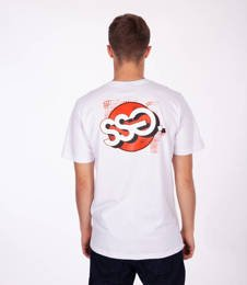 Smoke Story GRAFFITI CIRCLE T-Shirt Biały
