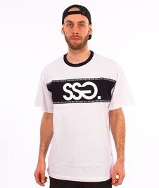 SmokeStory-Belt Classic T-Shirt Biały