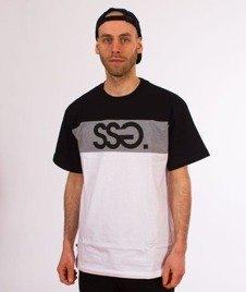 SmokeStory-Colors T-Shirt Biały/Czarny