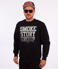 SmokeStory-Gradient Klasyk Bluza Czarna