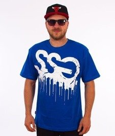 SmokeStory-SSG City T-Shirt Niebieski
