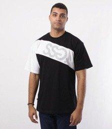 SmokeStory-SSG Cross Belt T-Shirt Czarny