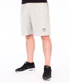 SmokeStory-Skin Krótkie Spodnie Dresowe Szare