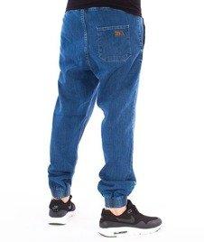 SmokeStory-Tag Jeans Jogger Regular Guma Spodnie Light Blue