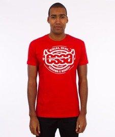 Stoprocent-Essa T-Shirt Czerwony
