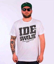 Stoprocent-Idę T-Shirt White