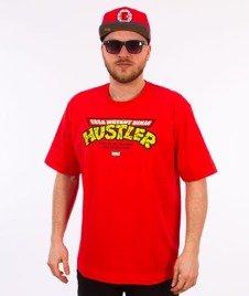 Stoprocent-Ninja T-Shirt Czerwony
