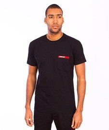 Stoprocent-Pocket T-Shirt Black