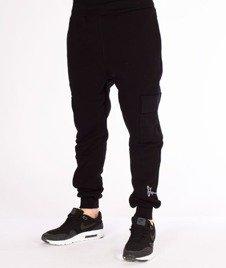 Stoprocent-SDC Jogger Vintage Spodnie Dresowe Black