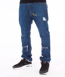 Stoprocent-SJ Slim Low Split Jeans Blue
