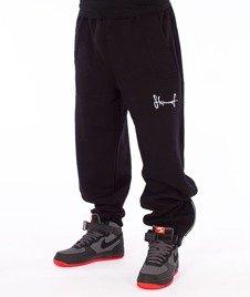 Stoprocent-Smalltag17 Spodnie Dresowe Czarne