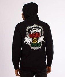 Stussy-Lion Shield Hood Bluza Kaptur Black