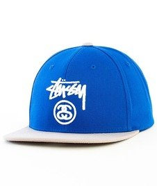 Stussy-Stock Lock SP16 Snapback Royal