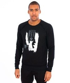 The Hive-Bunny Crewneck Black