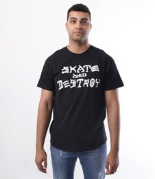 Thrasher-Skate And Destroy T-Shirt Czarny