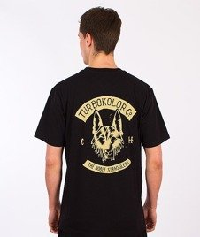 Turbokolor-Shephard T-Shirt Black SS16