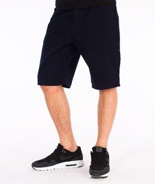 Unhuman-Spodnie Krótkie Szorty Granatowe