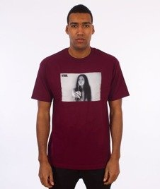 Visual-Joint T-Shirt Maroon