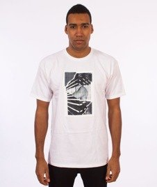 Visual-Torn T-Shirt White