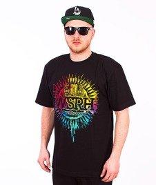 WSRH-Słońce T-shirt Czarny/Multikolor